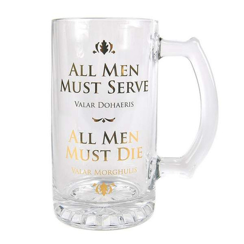 Game Of Thrones All Men Tankard