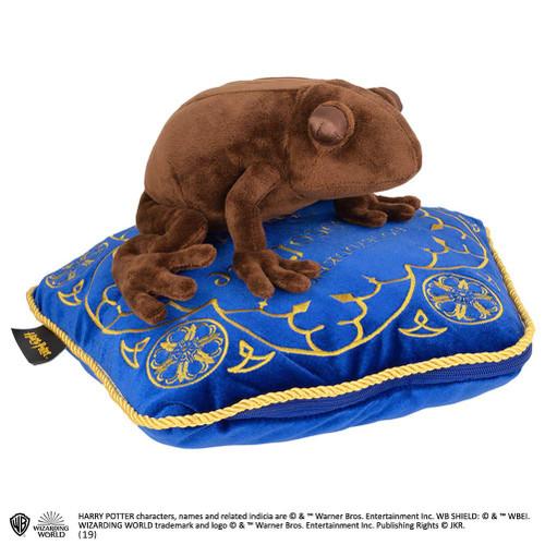 Harry Potter Chocolate Frog Soft Toy And Honeydukes Cushion