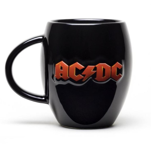 AC/DC Logo Oval Coffee Mug