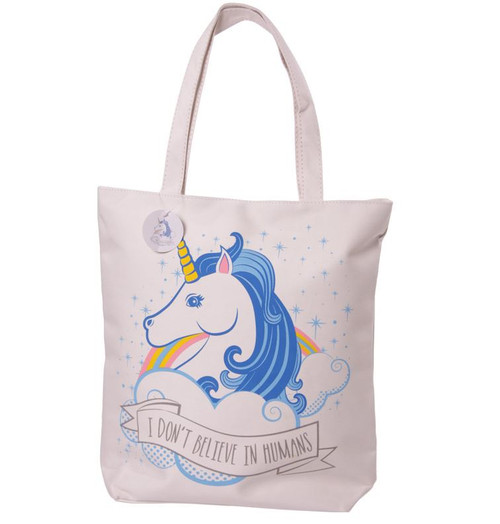 Unicorn And Rainbows Shopping Bag
