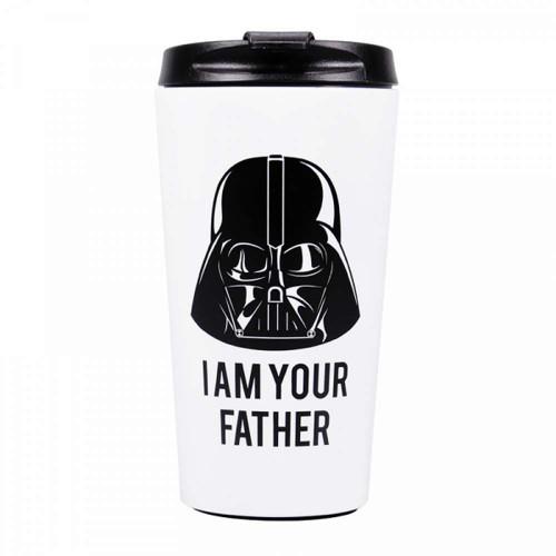 Darth Vader Stainless Steel Travel Mug