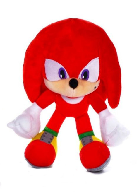 Sonic The Hedgehog Knuckles Soft Toy
