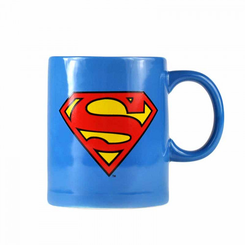 Superman Mug With Biscuit Holder