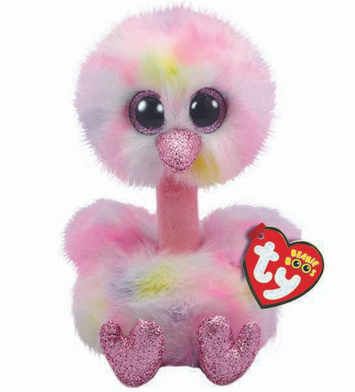 TY Beanie Boos Babies Avery Ostrich Soft Toy