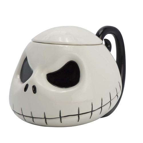 Nightmare Before Christmas Jack 3D Mug With Lid