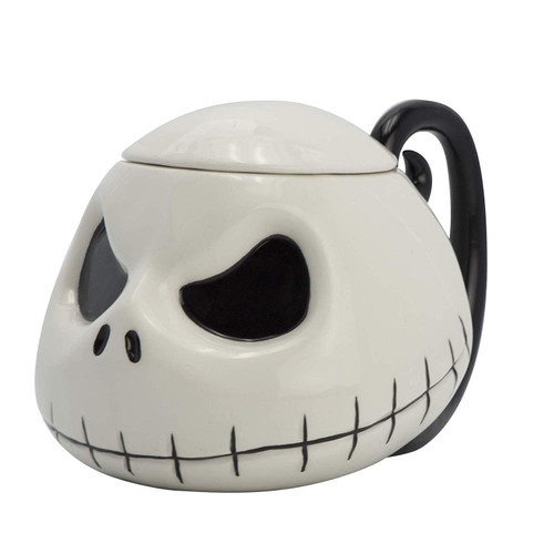 Nightmare Before Christmas Jack 3D Mug With Lid