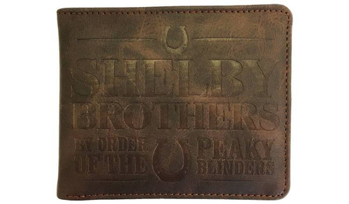 Peaky Blinders Shelby Brothers Wallet