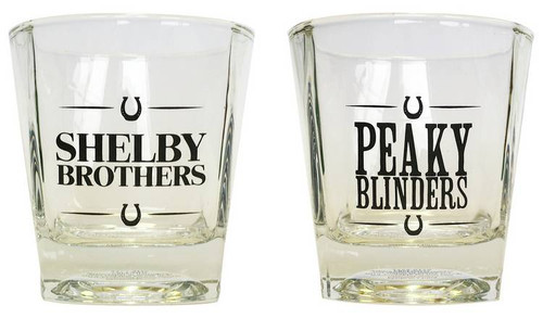 Peaky Blinders Set Of 2 Whiskey Glasses