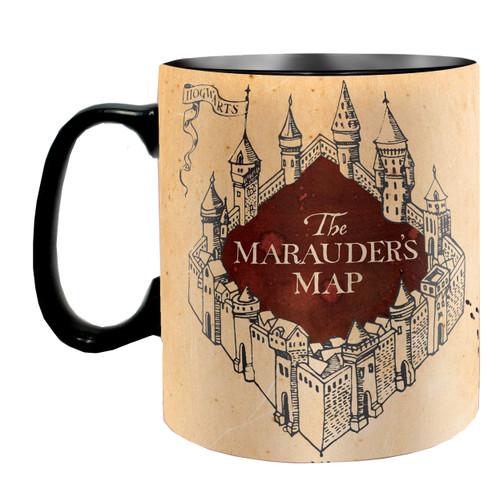 Harry Potter Marauders Map Large Heat Changing Mug