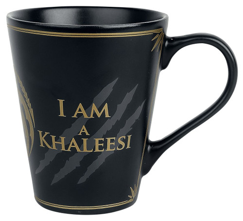 I am Khaleesi Tapered Coffee Mug