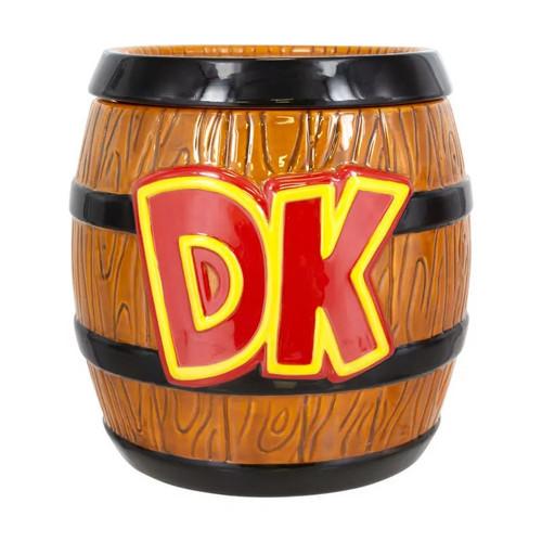 Donkey Kong Barrel Cookie Jar