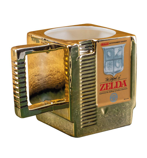 Zelda Retro Cartridge 3D Mug