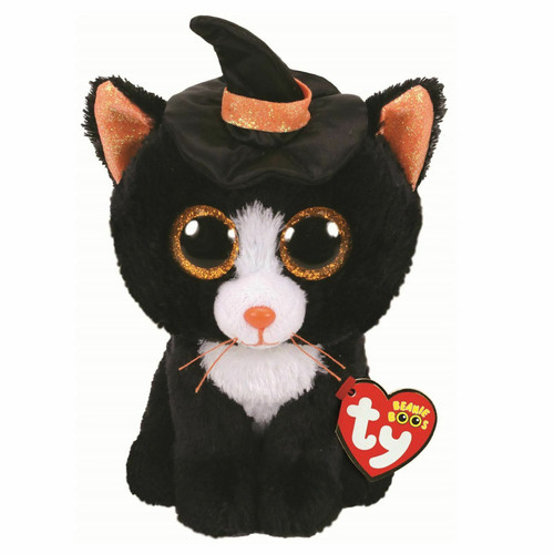 TY Beanie Boos Babies Witchie Cat Soft Toy