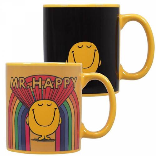 Mr Men Mr Happy Heat Changing Mug