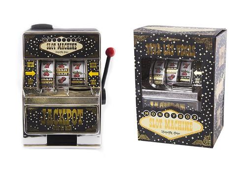 Las Vegas Slot Machine Money Box With LEDs and Sound