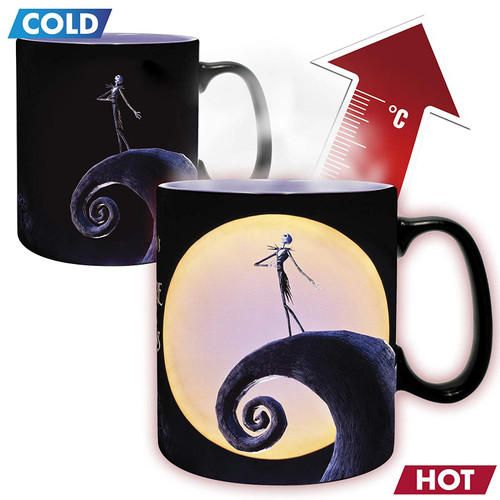 Nightmare Before Christmas Jack Heat Changing Mug