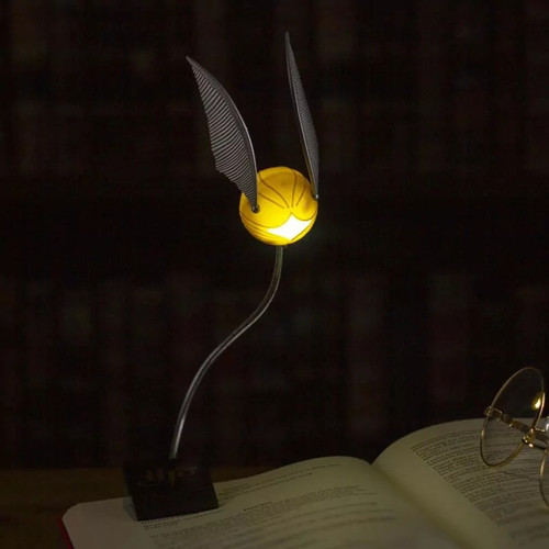Harry Potter Golden Snitch Lumi Clip Light