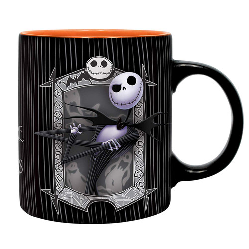 Nightmare Before Christmas Jack And Zero Mug