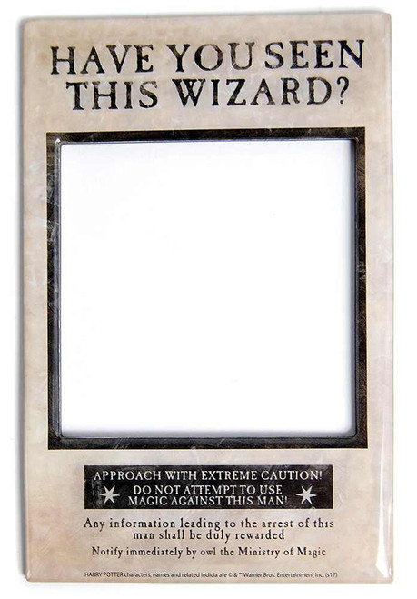 Harry Potter Have You Seen This Wizard Magnetic Photo Frame