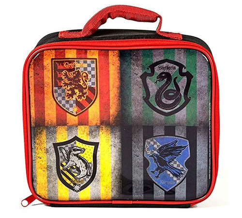 Harry Potter House Crests Lunch Bag