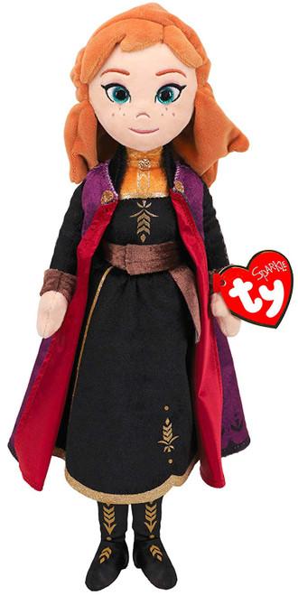 TY Beanie Buddy Frozen 2 Anna With Sound Soft Toy