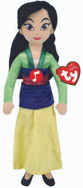 TY Disney Beanie Buddy Mulan With Sound Soft Toy