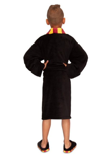 Harry Potter Childrens 10-12 Hogwarts Luxurious Bathrobe