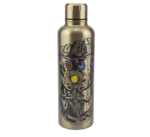 Avengers Gold Endgame Water Bottle