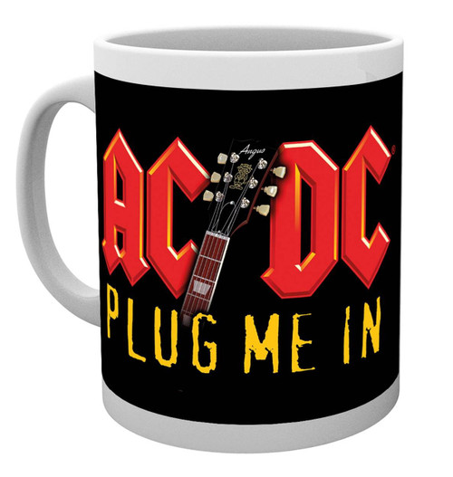 AC/DC Plug Me In Coffee Mug