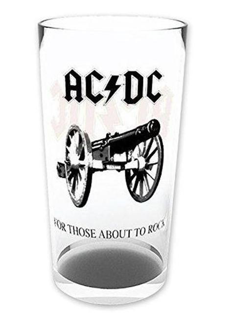 AC/DC  Glass Tumbler