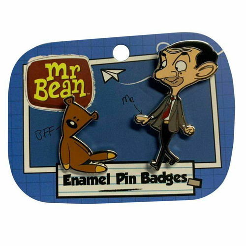 Mr Bean and Teddy Pin Badge