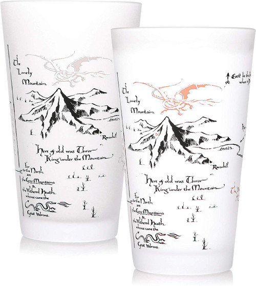 The Hobbit Colour Changing Glass