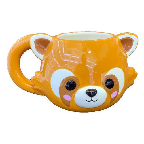 Red Panda Head Mug