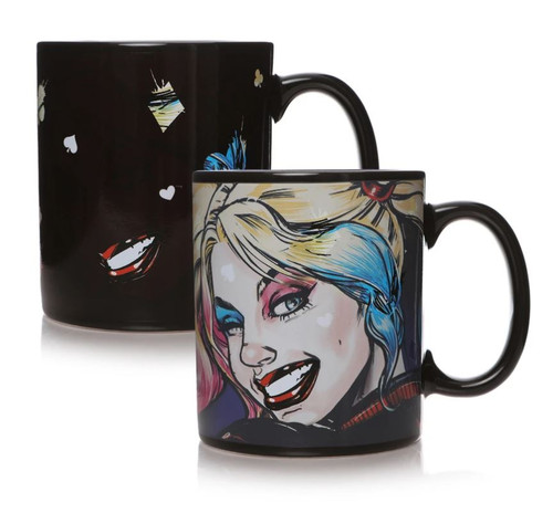 Harley Quinn Mad Love Heat Changing Mug