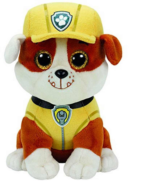 TY Beanie Boos Paw Patrol Rubble Soft Toy