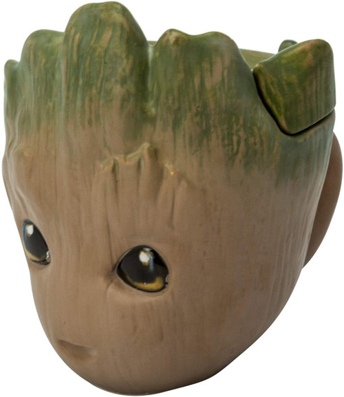Baby Groot 3d Coffee Mug With Lid