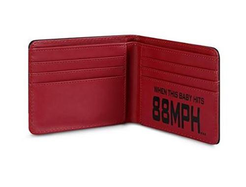 Back To The Future Delorean Wallet
