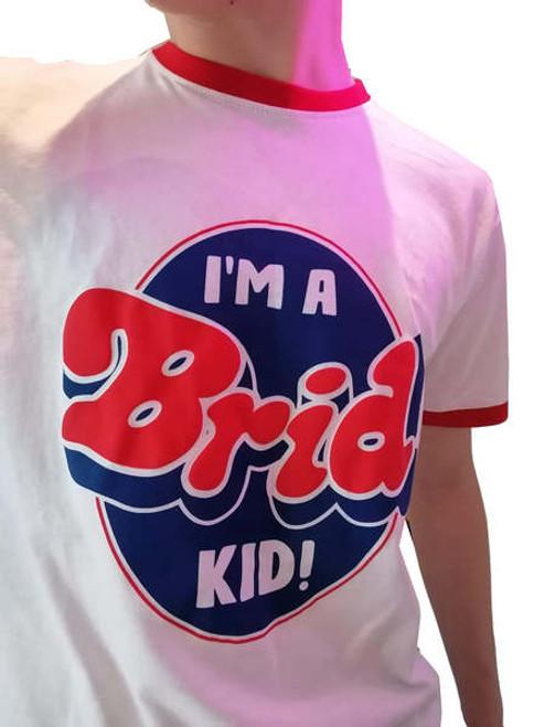 I'm A Brid Kid Retro T Shirt