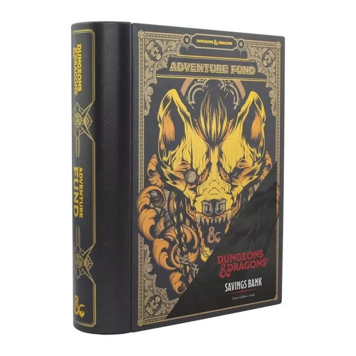 Dungeons And Dragons Adventure Book Money Box