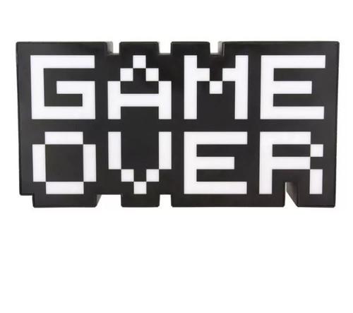 Game Over 8 Bit Light