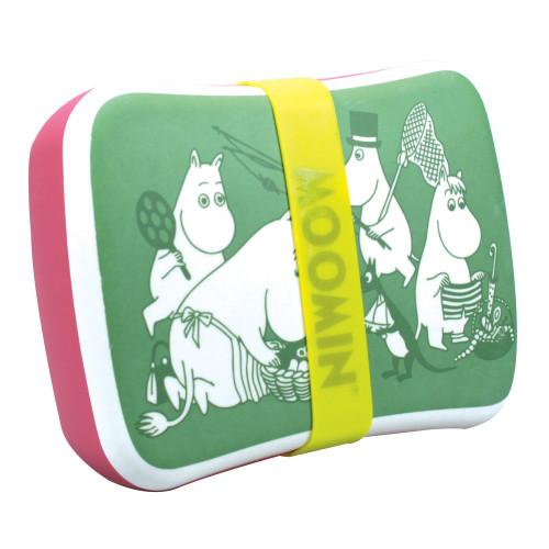 Moomin Picnic Bamboo Lunch Box