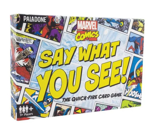 Marvel Say What You See Game