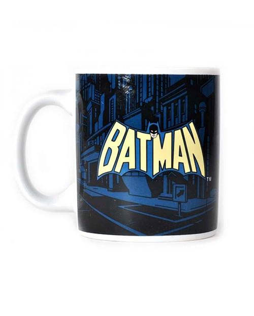 Batman The Dark Night Comic Strip Mug