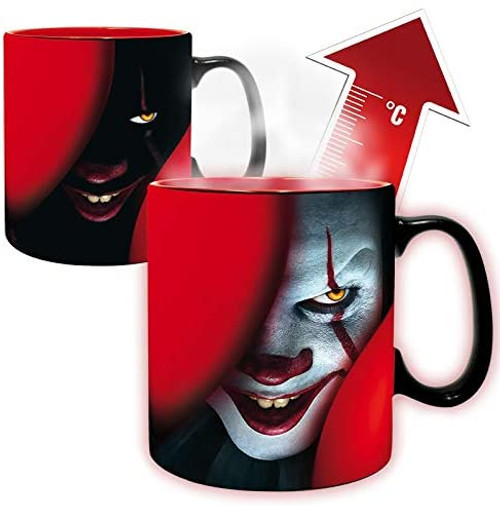 Stephen Kings IT Heat Changing Mug