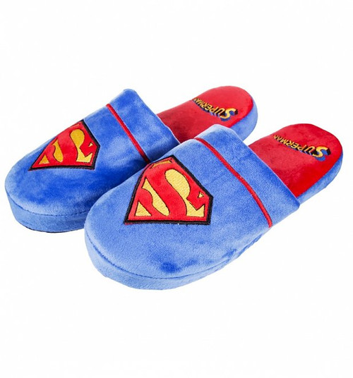 Superman Mule Slippers UK 8 - 10