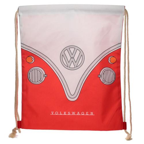 Volkswagen Red Drawstring Bag