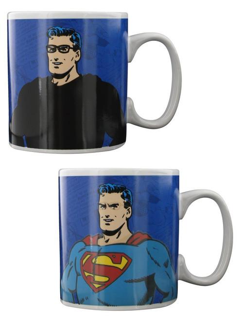 Superman Clark Kent Heat Changing Mug