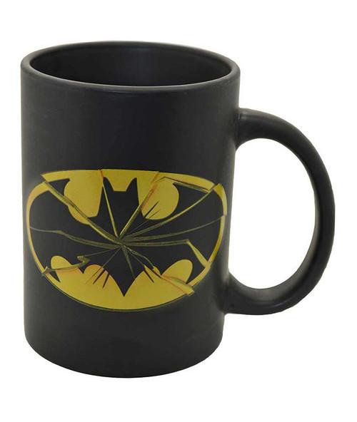 Batman Smashed Logo Mug