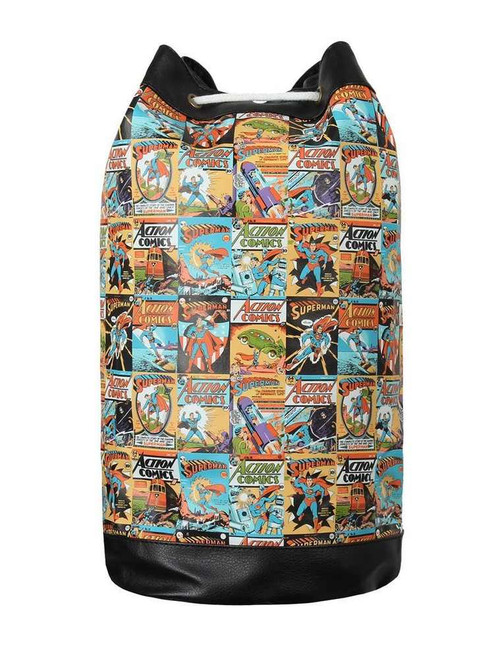 Superman Comic Covers Duffel Bag