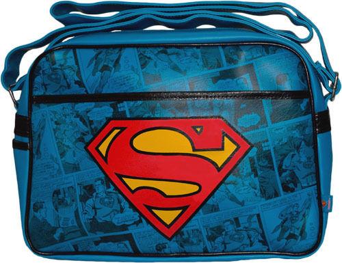 Superman Logo Shoulder Bag